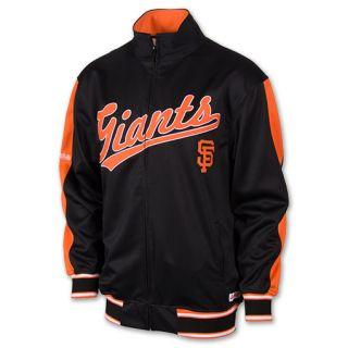 Mens Dynasty San Francisco Giants MLB Full Zip Track Jacket