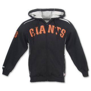 Dynasty Mens San Francisco Giants Sherpa Fleece Jacket