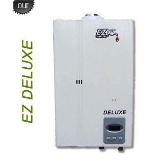 EZ Deluxe Tankless Water Heater   3.4 GPM   Propane LPG   Indoor Whole