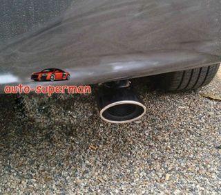 Chrome Exhaust Muffler Tip Pipe for Honda Civic 2012