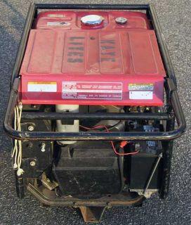 Honda ES 6500 Gas Generator Electric Start Runs 4K ARRI HMI Just