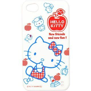 [Hello Kitty] iPhone4S iPhone 4 white desk back cover