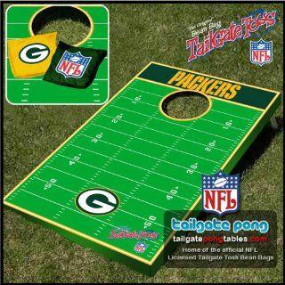 Green Bay Packers NFL Beanbag Tailgate Toss Cornhole Game