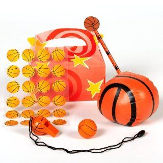Lets Party By Basketball Fan Birthday Party Favor Box