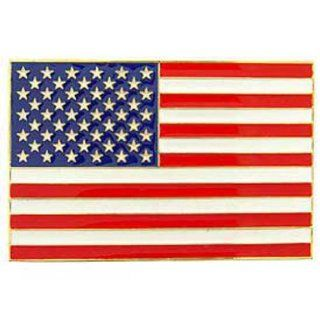 American Flag Car Grille Badge 2 1/2 x 3 13/16 Patio