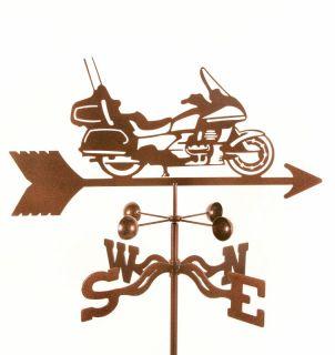 Honda Goldwing Motorcycle Weathervane