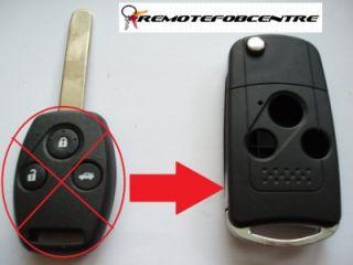 Key Case Upgrade for Honda Accord Civic Jazz HRV CRV Remote Key