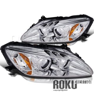 LED 04 09 Honda S2000 Halo Projector Xenon Headlights