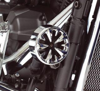 Honda Shadow Spirit Magna Sabre VTX Chrome Horn Cover
