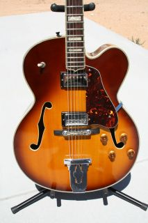 Hondo II Archtop Electric Guitar HL5BS