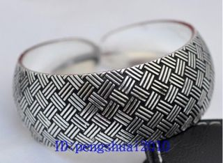 Shipping New in Tibet Style Tibetan Silver Lucky Cuff Bracelet