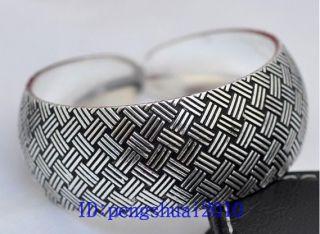 Shipping New in Tibet Style Tibetan Silver Lucky Cuff Bracelet