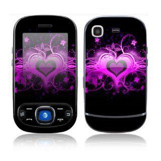 Samsung Strive Decal Skin Sticker   Glowing Love Heart