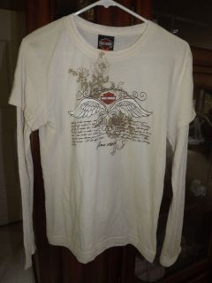 Harley Davidson Lace Long Sleeve XL