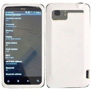 For HTC Vivid Soft Silicone Rubber Skin Cover Case Soft