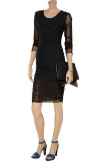 Elizabeth and James Gosling double layer stretch mesh dress