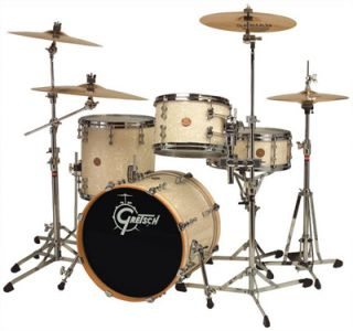 Gretsch New Classic Maple Be Bop Drum Set Ivory Marine Pearl