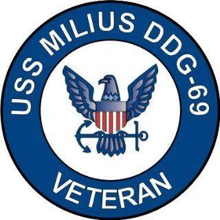 US Navy USS Milius DDG 69 Ship Veteran Decal Sticker 5.5