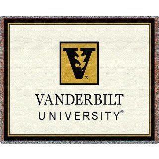 Vanderbilt Univ Leaf Logo   69 x 48 Blanket/Throw