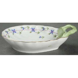Herend Blue Garland (Pbg) Bon Bon, Fine China Dinnerware