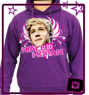 One Direction Niall Horan Hoodie Hood All Colours Kids Adults Size