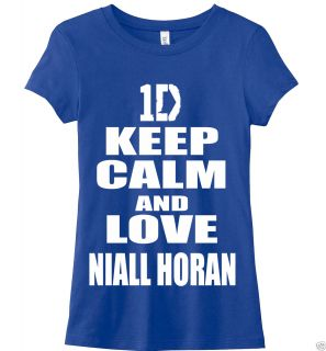 Keep Calm and Love Niall Horan Tshirt One Direction Woman Tshirt Harry