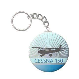 Cessna 150 llaveros de