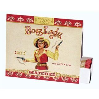 BLUE Q Boss Lady NEW Cowgirl RAPID FIRE Matches Box 100