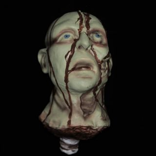 Cut Off Halloween Horror Haunted House Life Size Severed Heads Prop