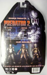Predator 2 Shaman Predator Action Figure by NECA Mint in Package Great