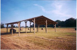 Shedpa steel truss pole barn plans for Horse barn materials