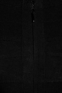 Hervé Léger Metallic stretch bandage mini dress