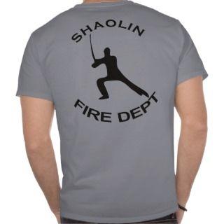 Shaolin Fire Department Tshirt