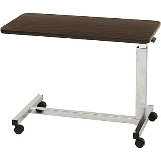 Low Height Overbed Bedside Hospital Bed Side Table
