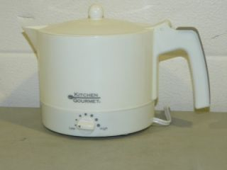 Kitchen Gourmet Electric Hot Pot Cooking Boiling