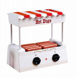 Old Fashioned Hot Dog Sausage Cooker Roller Machine ♦nostalgia