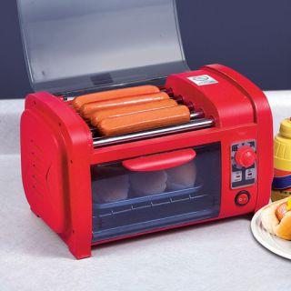 Hot Dog Stand Roller Warmer Cooker Bun Toaster Cooker