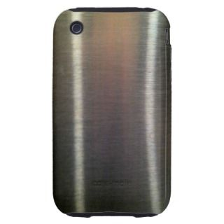 Stainless Steel Design iPhone3G/3GS Case Mate iPhone 3 Tough Cases