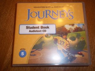 Houghton Mifflin Harcourt  Student Book Audiotext CD Grade
