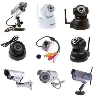 Wireless IP Camera WiFi IR LED Fake Dummy Wired CCTV Camera Waterproof