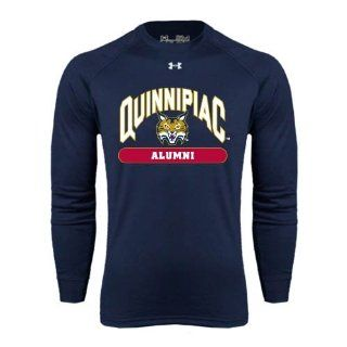 Quinnipiac Under Armour Navy Long Sleeve Tech Tee, X Large