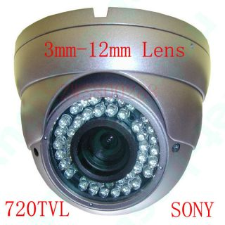 12mm Lens Zoom Home CCTV Security Camera Video Outdoor W23 7