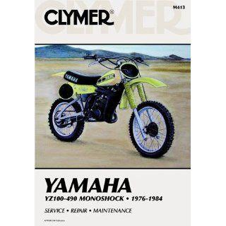 Yamaha YZ100 490 Monoshock CLYMER MANUAL YAM YZ100 490 MONOSHOCK 76 84