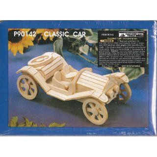 Classic Car    Wooden Model Arts, Crafts & Sewing