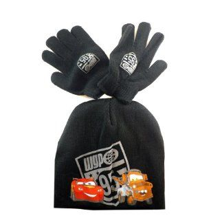 Cars Lightning McQueen and Mater Beanie with Gloves