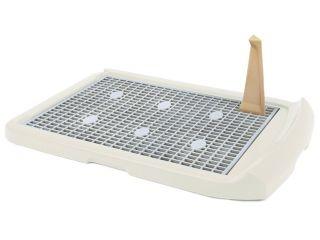 New Plastic Indoor Dog Toilet Potty Litter Tray Pet Training Tool 29
