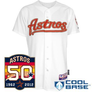 Houston Astros Authentic Home or Road or Alternate Cool Base Jersey 40