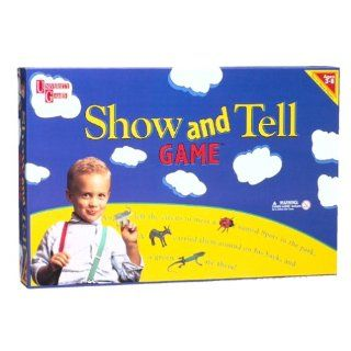 Show & Tell Game Board Game: Toys & Games