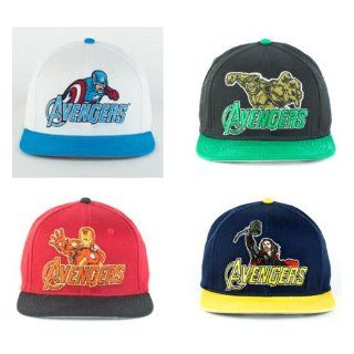 Avengers Set of Four Hats   Captain America, Thor, Iron