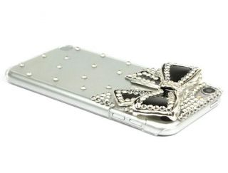 Crystal Rhinestone Hard Case Cover For Apple ipod Touch 5 5G 5TH Black